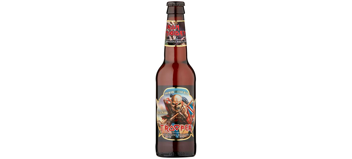 Neu in Deutschland: Iron Maiden Trooper Ale 33 cl